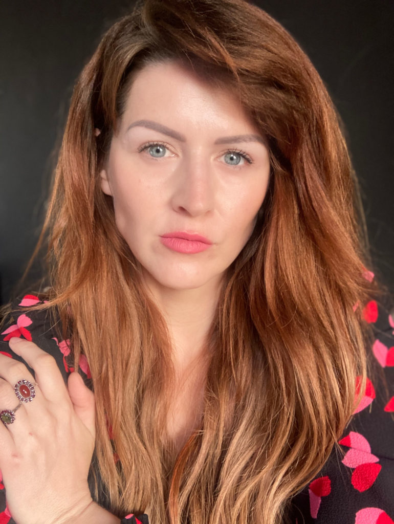 Mirka Novotná portrét